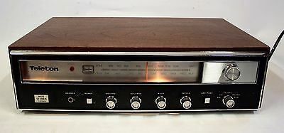 1970's Teleton F-2100 AM/FM Receiver / Amp Good Working Order