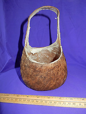 Bull Scrotum Bag Nut Sack Well Cured Very Useful and Novel 8 Inches Tall 5 Wide