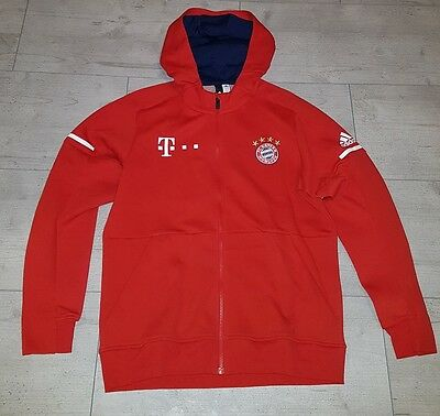 fc bayern m nchen auflauf jacke gr l kaputzen oberteil. Black Bedroom Furniture Sets. Home Design Ideas
