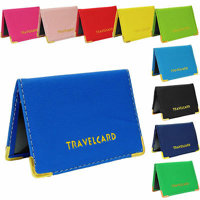 Oyster Leather Travel Card holder wallet for Bus Pass,Rail Card Wallet - MM