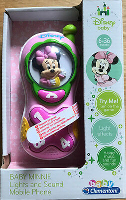 Disney Baby - Baby Minnie Lights and Sounds Mobile Phone 6 - 36 months