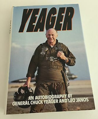 Hardcover book: Yeager - An Autobiography by General Chuck Yeager (1985)