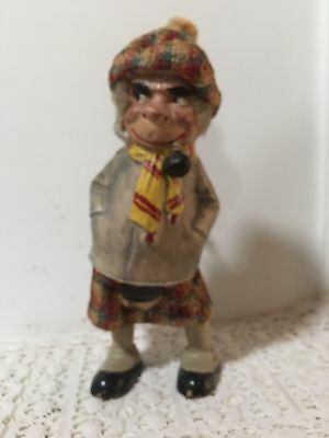 Rare Wind-up toy Scotsman Dancing A Jig 1900-1915