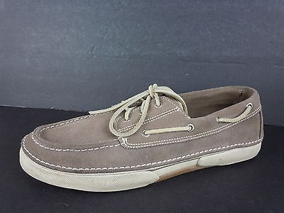 Mens Sperry Top-Sider Brown Suede Boat Shoes Size 12