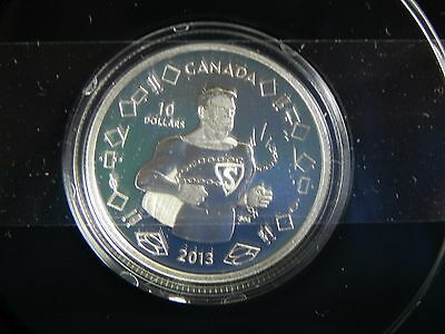 2013 Canada $10 Silver .9999 75th Anniversary of Superman Vintage Canadian NEW