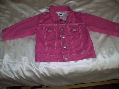Baby Girls Gap Pink Jacket 6-12 Months
