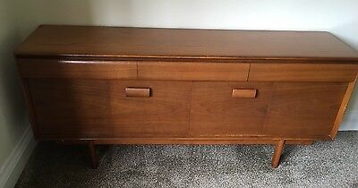 White And Newton 1965 Wooden Sideboard