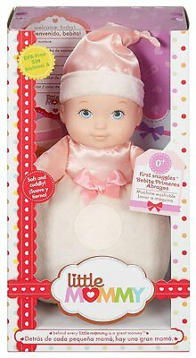 Fisher Price Little Mommy First Snuggles Soft & Cuddly Pink *new*