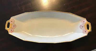 Limoges Hand Painted China Dish Quist Pattern