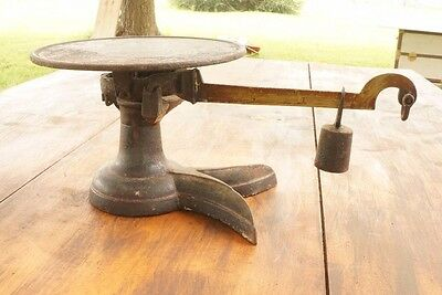 Antique FAIRBANKS ? CANDY SCALE 2-TOE Crow's Foot Cast Iron