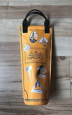 """Veuve Clicquot Insulated Champagne Tote Bag Bottle Holder """"On the Road"""" Ltd"""