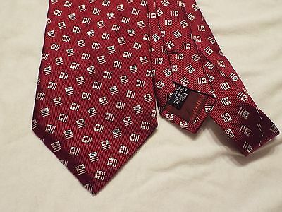 Armani Mens' Tie 100% Silk Made In Italy
