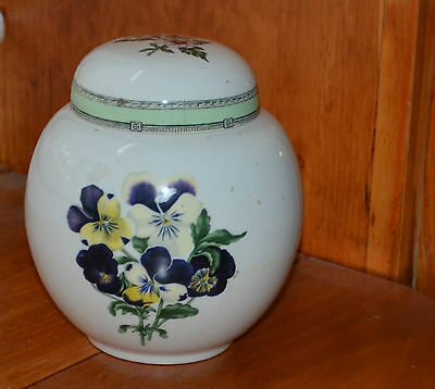 RHS Applebee Collection  Porcelain Ginger Jar