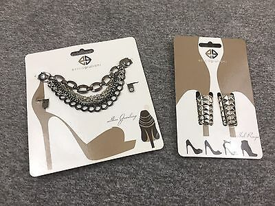 Heels Decoration Chains Rings by Erica Giuliani