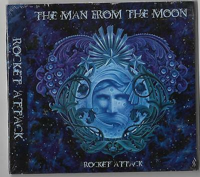 """THE MAN FROM THE MOON """"Rocket Attack"""" NEW and SEALED CD!"""