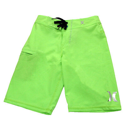 Hurley Youth P30 One And Only Boardshorts Neon Green/Hurley 25