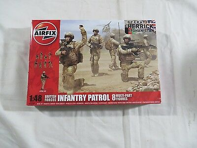 AIRFIX 1:48 British Forces Infantry Patrol Figures NEW SEALED A03701