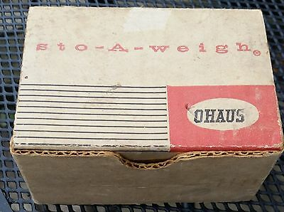 Ohaus Brass Weight Set - 10mg to 100g - 17 pieces