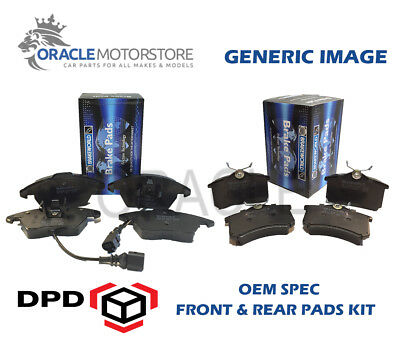 Oem Spec Front Rear Pads For Toyota Avensis 2.2 Td 2005-08