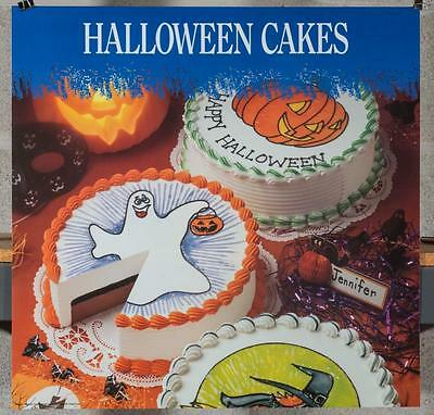 Dairy Queen Promotional Poster For Backlit Menu Sign Halloween Cakes dq2