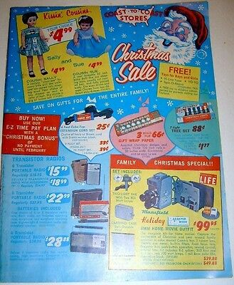 Vintage 1960's COAST to COAST Christmas Sale Catalog