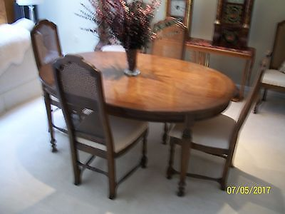 drexel dining room table and 6 chairs