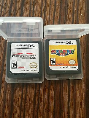Package A Lot Of 2 Mario Kart DS+Mario Party DS Version for Nintendo 3DS NDSI