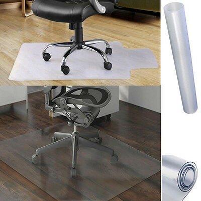 Home Office Chair Desk Carpet Protector Mat Non Slip Clear PVC Frosted 900x1200