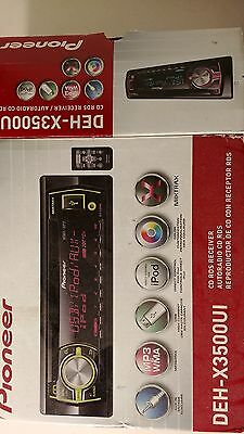 Pioneer DEH-X3500UI CD Player/MP3 In Dash Receiver