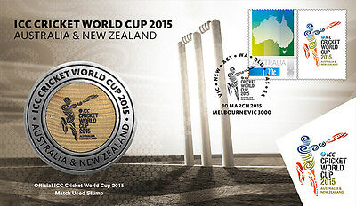 ICC Cricket World Cup 2015 Medallion Cover Limited of 3500