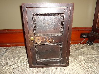 Antique General Store Counter Top or Floor Key Strongbox, Safe