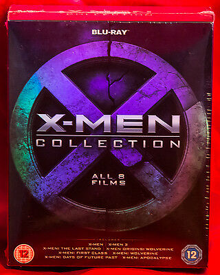 X-Men Collection (Blu-ray Disc, 2016, 8-Disc Set)