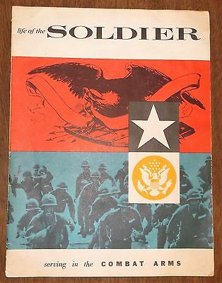 1956 Recruiting Booklet - US Army Infantry Artillery Armor - Des Moines Iowa