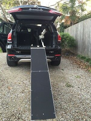 Aluminium Folding Loading ATV Ramps Motorcycle Golf Buggy Trailer  -JET02-6