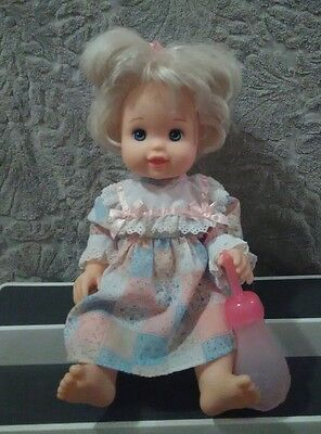 BETSY WETSY DOLL MATTEL 1999 with bottle ....Rare...LOOK.. ADORABLE!#!####!!!!!