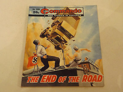Commando War Comic Number 2088,1987 Issue,v Good For Age,30 Years Old,very Rare.