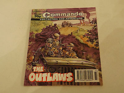 Commando War Comic Number 2987,1996 Issue,v Good For Age,21 Years Old,very Rare.
