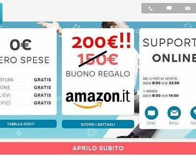 BUONO AMAZON 200€ HELLO BANK - voucher GRATIS codice MGM307474260
