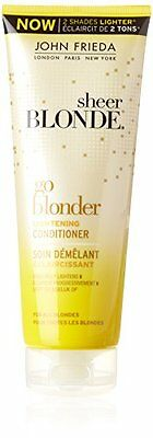 John Frieda Sheer Blonde Go Blonder Lightening Conditioner, 250ml