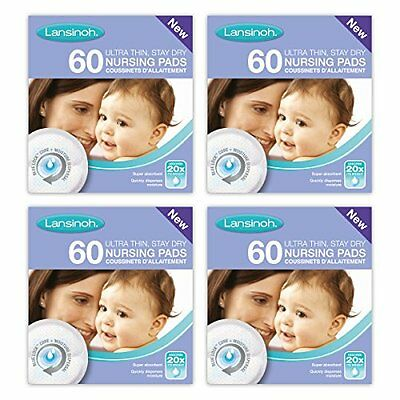 Lansinoh Disposable Nursing Pads  4 x 60 Piece packs