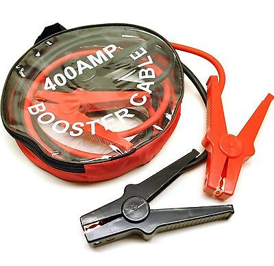 400 Amp Jump Leads / Booster Cables 2.5 Metres Long