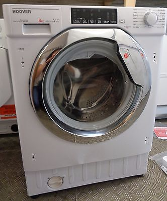 Hoover HBWM814TAHC A+++ 8Kg - Integrated Washing Machine - White (1101)