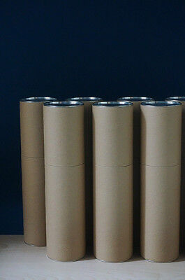High end Kraft finish Cardboard tube, butt jointed, 100mm diameter, butt jointed