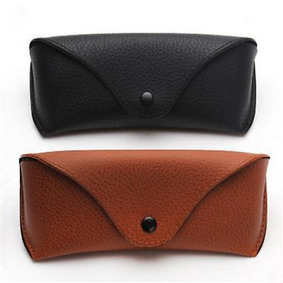 2017 Protable Eyeglasses Sunglasses Protector Leather Holder Box Case Cover
