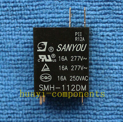 1pcs SMH-112DM SANYOU 12VDC Relay NEW