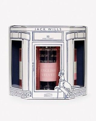 BNIB JACK WILLS LADIES BODY SPRAY TRIO - Hope Cove, English Velvet, Signature