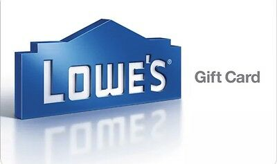 $500 Lowe's Home Improvement Gift Card