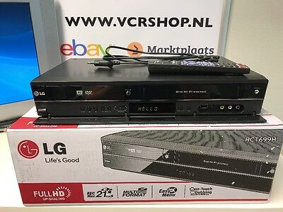 LG RTC699H Dvd Recorder / VHS Combi Full HD Up-scaling So Good As New!