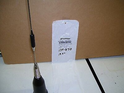 1-Multi Band Unity Lmr Full Spectrum Antenna  136 To 870 Mhz 1/4Wave Nmo Base