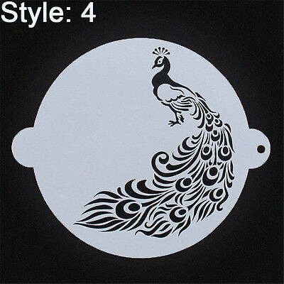 1pc Plastic Cake Stencils Template Decorating Cake Stencil Mold Embosser Tool